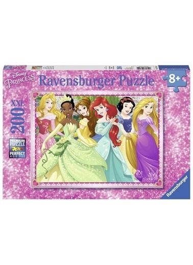 Ravensburger Çocuk Puzzle 200 Parça WD Princess 127450 Renkli